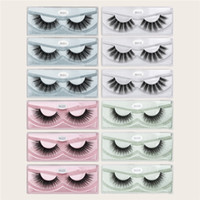 Wholesale under eyelashes for sale - Group buy MAGEFY Pairs D Mink Eyelashes Natural Long Eye Lashes Handmade Thick Black False Eyelashes Makeup Beauty Tool