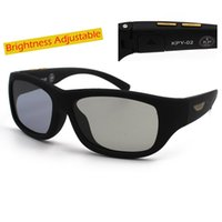 Wholesale polarized lcd resale online - La Vie Original Design Sunglasses LCD Polarized Lenses Transmittance Adjustable Lenses Suitable Both Outdoors and Indoors