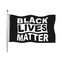 Black Lives Matter Flag 90*150cm Garden Flag Banner Wall Flag For Indoor Outdoor Democrats I Can't Breathe Justice Movement 3*5ft HH9-3