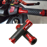 Wholesale motorbike grips for sale - Group buy 7 mm Handle Bar Universal Motorcycle Accessories Handlebars Hand Bar Grips Motorbike hand grips For New KYMCO AK550 with logo