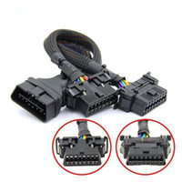 Wholesale obd scanner for sale - Group buy High Quality OBD2 Extension Cable OBD pin Male To Female for ELM V1 for Auto Car Diagnostic Tool Scanner OP COM