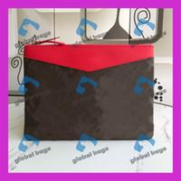 Wholesale mini girls purses resale online - Clutch Bag Handbag Purses baguette bags mini pochette uomo leather handbags bag clutches handbags Classic Retro Fashion beuty and cute