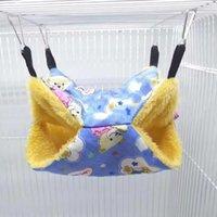 Wholesale ferret cages for sale - Group buy Sugar Glider Squirrel Hamster Parrot Ferret Hammock Hanging Bed House Cage Mat