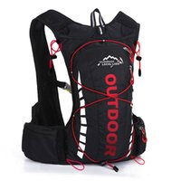 Wholesale outdoor riding backpack bicycle resale online - 8L waterproof mtb bicycle bike water bag Backpack Outdoor Sports Men Women Hiking Riding Hydration Cycling Backpack