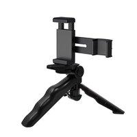 Wholesale osmo pocket resale online - PULUZ Smartphone Fixing Clamp Inch Holder Mount Bracket Grip Folding Tripod Mount Kits for DJI OSMO Pocket Camera Accessorie