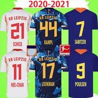 Wholesale 20 Soccer Jersey home away third WERNER Camiseta HEE CHAN Maillot HALSTENBERG SABITZER Football Shirt Kits CUNHA Uniform