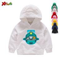 2019 FUNNY Octonauts Print Hoodies Winter Cartoon Printed Sweatshirts Boys  Girls 2 4 6 8 T Long Sleeves Hoodies Sweatshirts Y200831
