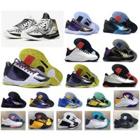 basketball shoe v retro groihandel-5 Mens Bean Hot V Clown Retro Classics 5S Mamba Basketball-Schuh-Qualitäts-Trainer Sport-Turnschuhe Größe 40-46 YK1VS5BAS5BA