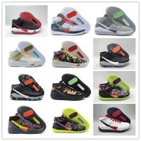 Wholesale mens kd basketball shoes sale resale online - Hot Sale Kevin Durant KD XIII The Day One s Protro Green Camo Mens Women Basketball Shoes s KD13 Sports Sneakers Size