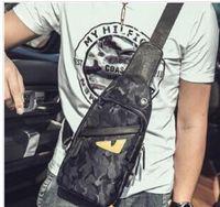 Wholesale mens fanny packs resale online - Designer Designer Crossbody Bag Little Monster Fanny Pack Waist Bag High Quality Fashion Mens Small Waist Bags Easy To Charge