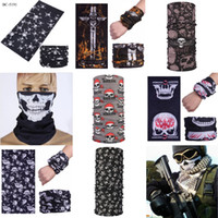 Wholesale cold gear resale online - Cold Weather Ski Cycling Motorcycle Neck Warmer Hood Winter Gear For Men Wome Winter Polar Fleece Silicone Mask Cap