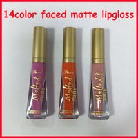 Wholesale make up nude for sale - Group buy 2019 Lip Makeup Face Melted Matte Lipgloss Sexy Nude Make Up Melted Liquified Long Wear Matte Lipstick Colors Melted Lip Gloss Epacket