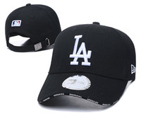Wholesale hats for mens resale online - 21 colors and style in stock New Fashion LA hat baseball caps Dodgers Snapback for womens mens peaked cap casquette hip hopbones