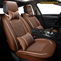 Wholesale ZHOUSHENGLEE car seat covers For focus focus mondeo fiesta figo ranger edge fusion kuga seats