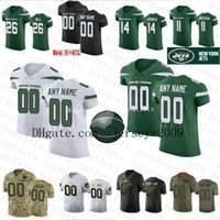 Wholesale elite mens jerseys for sale - Group buy New Custom Jets Elite Mens Women Kids Le Veon Bell Jamal Adams NY Jerseys Sam Darnold Joe Klecko Namath Anderson Chrebet