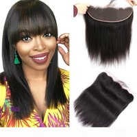 Wholesale bella hair extensions for sale - Group buy Bella Hair HD x4 Pre Plucked Lace Frontal Closure Ear to Ear With Natural Hairline Light Bleached Knots Virgin Human Hair Extensions