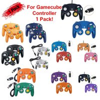 Wholesale original wii controller for sale - Group buy New Look Gamepads Games For Wired NGC Controller Gamepad For GameCube GC Wii U Console Bring Back The Original Brand