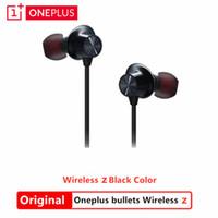 Wholesale magnetic bullet resale online - Original OnePlus Bullets Wireless AptX Hybrid Magnetic Control Fast Charge Oneplus Bullets Wireless Z Earphone