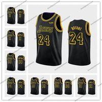 Wholesale basketball playoffs for sale - Group buy Los Angeles Lakers Kobe Bryant Davis James city Basketball jerseys Anthony Lebron black mamba orlando playoffs jersey