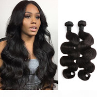 Wholesale bella hair extensions resale online - 8 Thick Human Hair Weave Brazilian Body Wave Natural Color Hair Extensions Julienchina Bella Hair Bundles