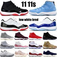 Wholesale Jumpman new s mens basketball shoes low white bred heiress night maroon pantone pinnacle grey SE metallic gold men women sneakers