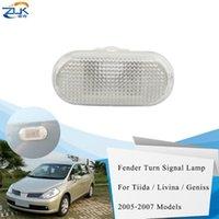 Wholesale left turn light resale online - ZUK Left Right Side Turn Signal Light Housing Cover Fender Side Lamp For For Tiida Livina Geniss