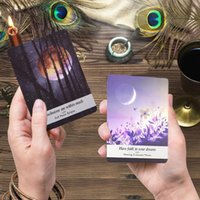 Wholesale fun playing cards for sale - Group buy 44pcs Moon s Power Tarot Cards English Version Oracle Card Deck Tarot Game For Home Outdoor Fun Table Playing Card Board Games bbyeQw
