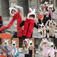 Wholesale fake baby clothing for sale - Group buy Fashion Hats Caps Ladies Winter Plush Fake Thick Cute Cartoon Hat Ear Protectors Warm Plush Hat Baby Clothing Drop Shipping