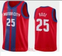 Wholesale new derrick rose for sale - Group buy City New Edition Detroit Pistons Jersey Authentic Blake Griffin Derrick Rose Vintage Red City Basketball Jerseys