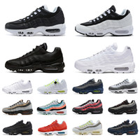 outdoor-frauen laufschuhe groihandel-Nike air max 95 shoes  Laser Fuchsia Schuhe OG Mens Womens Breathable Shoes bunt Schwarz Rot Weiß Sport Trainer Surface Sports Outdoor Sneakers 36-45