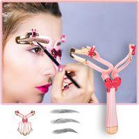 Reusable Adjustable Eyebrow Shape Stencil Makeup Shape Eye Brow Makeup Model Template Eyebrows Stencils Styling DIY Tools