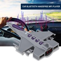 Wholesale car shape mp3 player resale online - Car MP3 Music Player Audio FM Transmitter Fighter Shape Car USB Mobile Phone Charger Support Hand free Calls