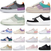 skateboards schuhe groihandel-Nike air force 1 af1 Luxus Racer blau Laufschuhe Triple White Black Light Cream Dusty Cactus Oreo olympischen Outdoor Herren Damen Red Orbit Light Cream Sneakers