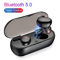Wholesale wireless cellphone headphones for sale - Group buy TWS bluetooth earphones Mini Wireless Earbuds Touch Control Sport in Ear Stereo Cordless Headset for cellphones headphones