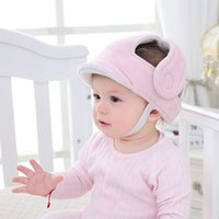 Wholesale bumps head resale online - Toddler Children Walking Play Head Protect No Bumps Helmet Adjustable Baby Kids Safety Head Protector New