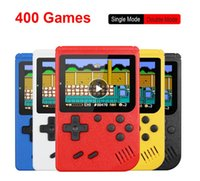 Retro Portable Mini Handheld Game Console 8-Bit 3.0 Inch Color LCD Kids Color Game Player contain 400 games