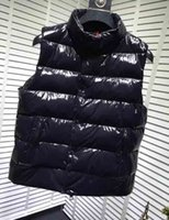 New Designer Vest Mens Women Brand Sleeveless Jacket Cotton Padded Mens Down Vest Winter Casual Coats Male Waistcoat Luxury 2020091202T