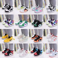 Wholesale jordan kids shoes for sale - Group buy top Quality s OG kids toddler High Low basketball girl children shoes Nakeskin Jordan boy air outdoor sneakers Trainers shoes e43