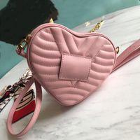 Wholesale love wallets resale online - Designer handbags high quality luxury handbag wallet designer handbags love bag Messenger bag fashion genuine leather shoulder bag