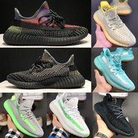 Wholesale canvas mesh resale online - 2020 Static Reflective V2 Men Women Running Shoes Butter Sesame Beluga Zebra Sneakers Sport Shoes Eur Without Box