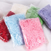 Shredded Paper for Gift Baskets Wrap 20g Box Decoration Filling Material Christmas Wedding Marriage Home supply