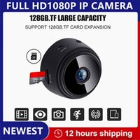 Wholesale waterproof wireless mini camera resale online - 1080P HD Mini Security Camera IP WIFI Camera Camcorder Wireless Home Security DVR Night Vision Monitor Mobile Phone