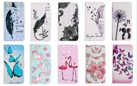 Wholesale bird case iphone for sale – best 3D Flower Wallet Leather For Iphone Pro Max Huawei P40 Lite PU Case Butterfly Unicorn Lace Feather Flamingo Bird Lover Flip Cover