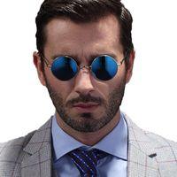 Wholesale lennon glasses resale online - 2020 New Classic John Lennon Small Round Polarized Sunglasses Mens Womens Vintage Retro Mirror Sun Glass Masculino