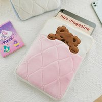 Wholesale tablet soft for sale - Group buy Cartoon Pattern Embroidery Flannel Soft Protect Pouch Case Cover for in in in Tablet for daily traveling use