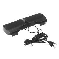 Wholesale mini plastic clip mp3 player resale online - Clip Mini Portable USB Stereo Speaker Soundbar for Notebook Laptop Computer PC Mp3 Phone Music Player