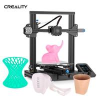 Wholesale ender 3 printer for sale - Group buy Creality D Ender V2 D Printer DIY Kit printer All Metal Integrated Structure Mainboard upgrade Ender pro impresora