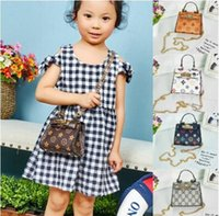 Wholesale baby cute handbag resale online - New Kids Handbags Fashion baby Mini Purse Shoulder Bags Teenager children Girls Messenger Bags Cute Christmas Gifts