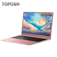 Wholesale 15 Inch N4100 G RAM Laptop Laser Engraving Your Language Student SSD Notebook Slim Pink Netbook New Portable PC Computer
