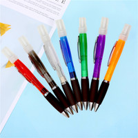 Wholesale pen perfumes for sale - Group buy Spray pen Ballpoint pen Plastic Spray perfume ballpoint alcohol spray pen colors office supplies T3I51119